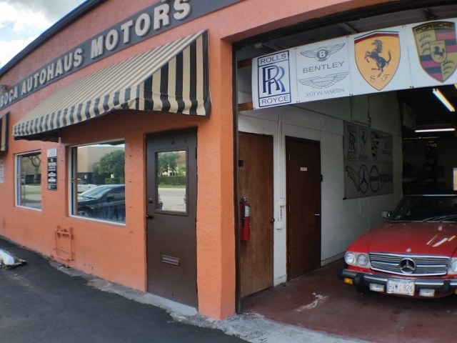 Fisheye View of Boca Auto Repair Shop