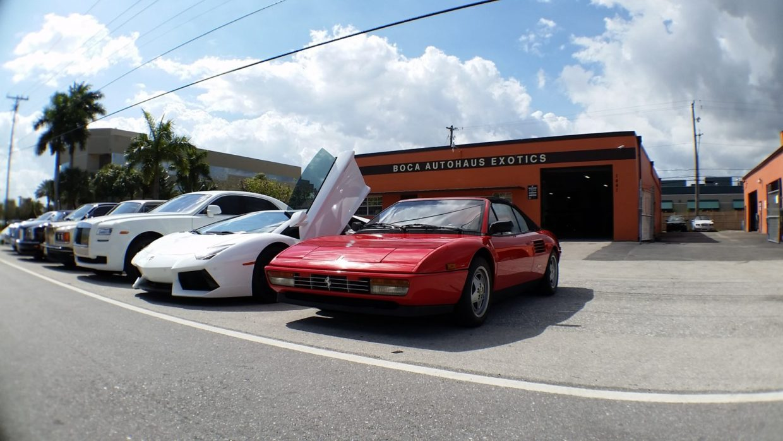 Classic Ferrari Repair In Boca Raton