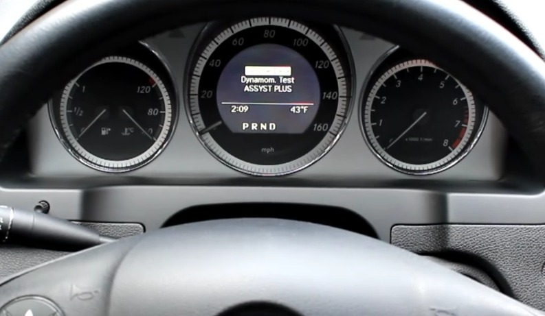 mercedes service indicator 3