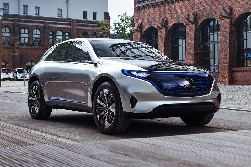Mercedes EQC Electric Vehicle