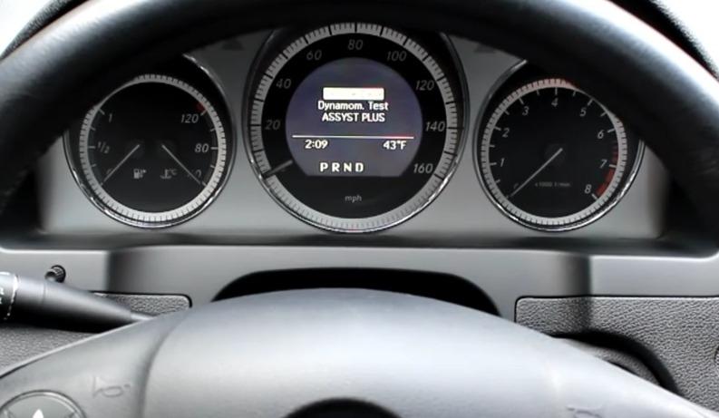 mercedes service indicator 3
