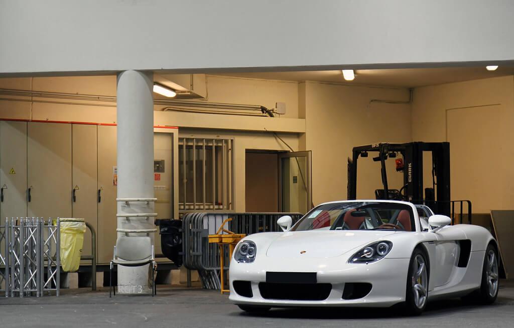 Boca Construction Yard with Porsche