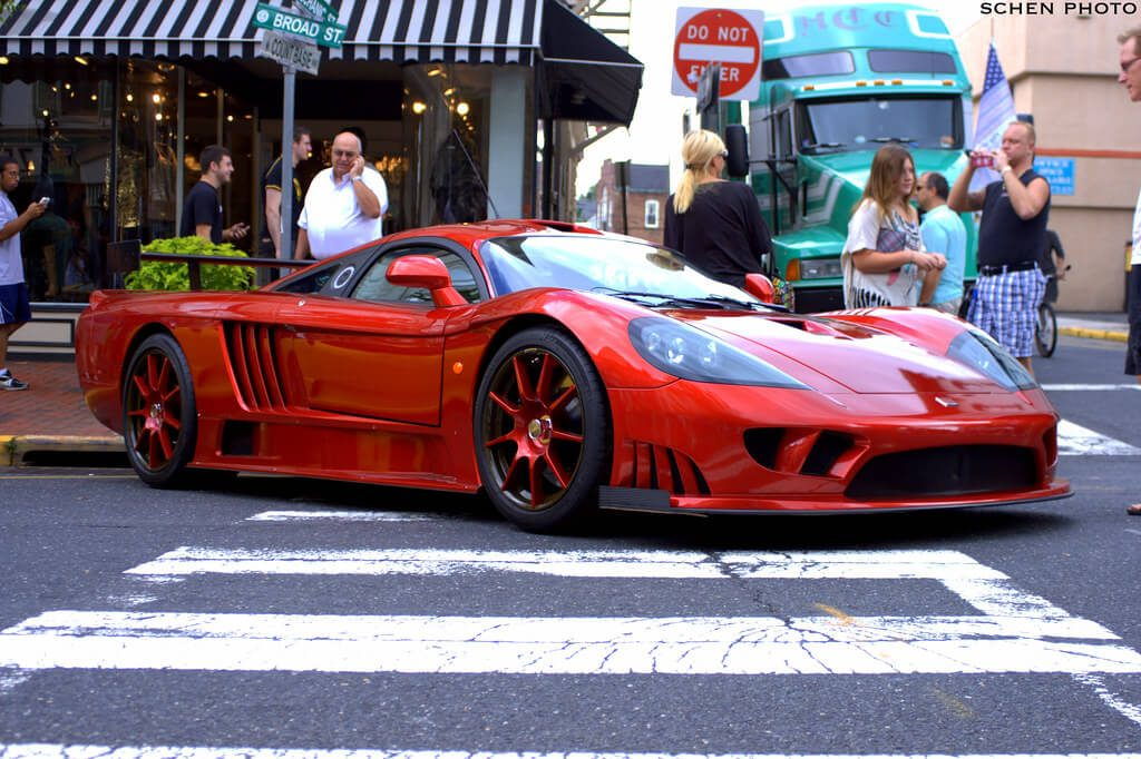 Exotic cars and the best coffee are a match made in heaven for