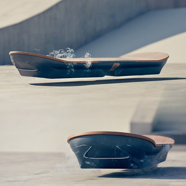 It's Here and It's Glorious: The Lexus Hoverboard