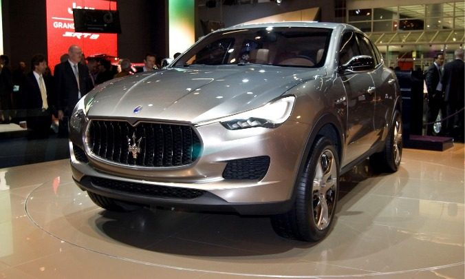 Luxury Car Manufacturing & The First Maserati SUV